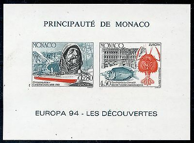 STAMP / BLOC TIMBRE SPECIAL MONACO NEUF NON DENTELE N° 23a ** COTE 230 € EUROPA