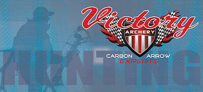 THE HOTTEST 3D//FIELD SHAFT SINGLE! .204 VICTORY ARCHERY 3DHV