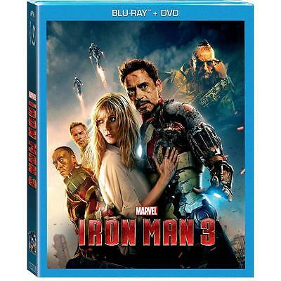 Iron Man 3 (Blu-ray/DVD, 2013, 2-Disc Set)