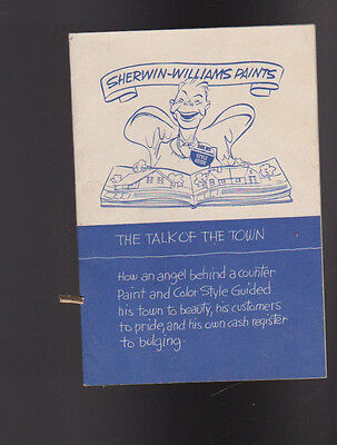 Sherwin Williams Paints The Talk of the Town 1934  Booklet