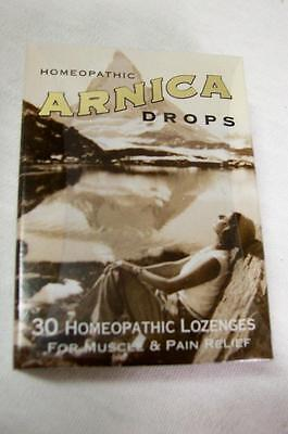 Historical Remedies 30 Homeopathic Arnica Drops Repair and Relief Lozenges