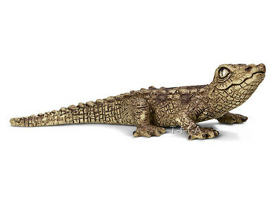 FREE SHIPPING | Schleich 14683 Baby Crocodile Reptile Toy New- New in Package