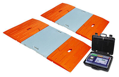 PAW-A Portable Axle Vehicle Weighing System - 10000Kg x 5Kg