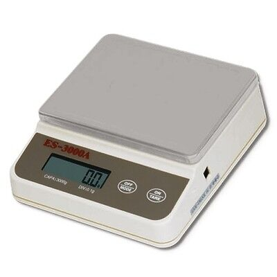 ES Compact Bench Scale with Large Stainless Weighing Pan