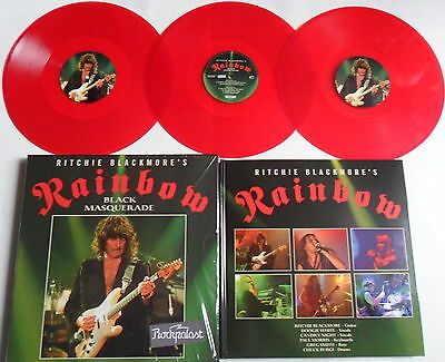 LP RAINBOW Black Masquerade (3LP) - RED VINYL - RSD 2014 - SEALED Deep Purple