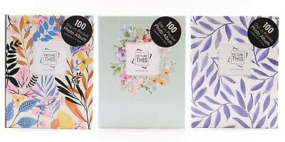 "Tallon 6"" x 4"" - 100/200/300 Pocket Photo Album with Different Designs"
