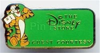 Tigger Disney Store Guest Courtesy Cast Member Rare Pin