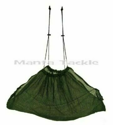 NEW 42 Weigh Sling Fishing Carp Deluxe Green Soft Mesh WEIGHSLING Weighing Net