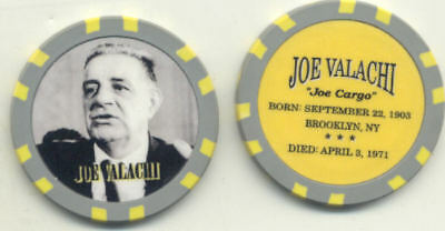 Joe Valachi  Gangster  Collector Chip