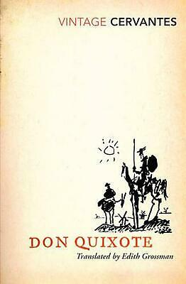 Don Quixote by Miguel De Cervantes (English) Paperback Book Free Shipping!