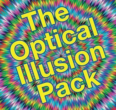 The Optical Illusion Pack [With Spirals, Shape Model and 3-D Glasses and Spinner