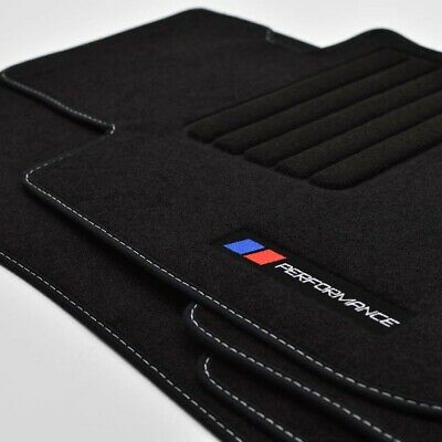 MP Velours Fußmatten Logo Performance für BMW 3er E92 Coupe ab Bj.2005 - 2014