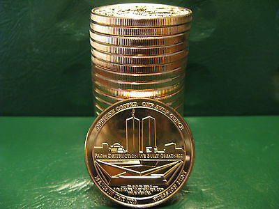 Freedom Tower 1oz .999 Copper 20 beautiful rounds Rare and limited