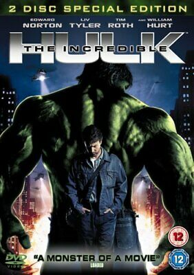 The Incredible Hulk (2 Disc Edition) [DVD] - DVD  JUVG The Cheap Fast Free Post