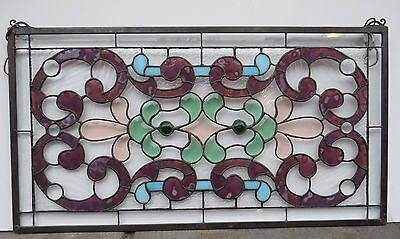 Stained Glass Window Suncatcher Floral  New