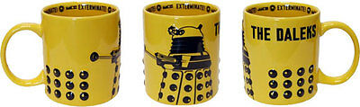 *NEW* Doctor Dr Who DALEK 2D RELIEF Boxed China Mug - 1 MUG ONLY