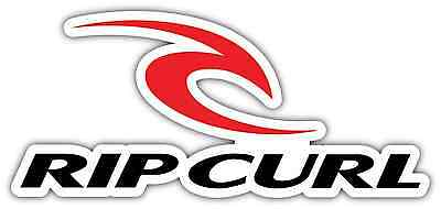 "Rip Curl Wetsuits Surfing Kiteboarding Car Bumper Window Sticker Decal 7""X3.3"""