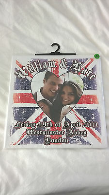 William and Kate Royal Wedding T Shirt New in Packaging Medium Union Jack