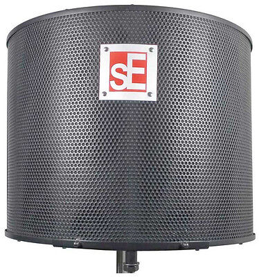 SE Electronics Project Studio RF Portable Acoustic Vocal Booth Reflexion Filter
