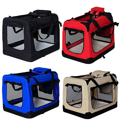Hundetransportbox Hundetasche faltbare Transportbox Kleintiertasche Autobox