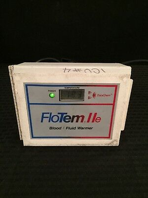 DATACHEM FloTem IIe Blood/Fluid Warmer Type 1 See Description For Condition