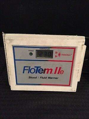 DATACHEM FloTem IIe Blood/Fluid Warmer Type 2 See Description For Condition