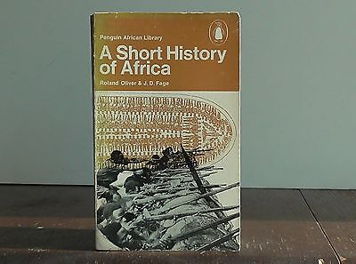 "Vintage Penguin African Library #AP2 ""A Short History of Africa"" by Oliver, Fage"