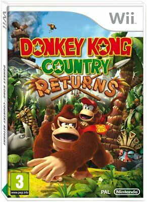 Wii - Donkey Kong Country Returns (Wii) - Game  EMVG The Cheap Fast Free Post
