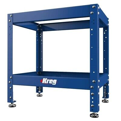 Kreg KRS1035 Multi-Purpose Adjustable Steel Shop Stand with (4) Leveling Feet