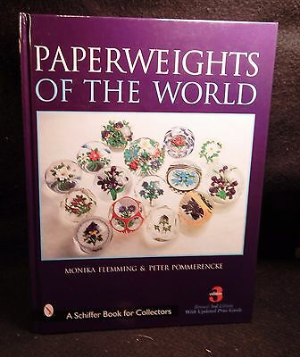 Paperweights of the World Price Guide Book / 3rd Ed. / Art Glass Paper Weights
