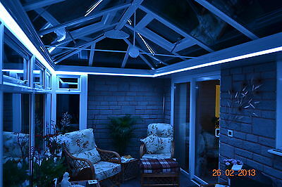 Conservatory/Home RGB Colour Changing LED Strip Light Sets - All Sizes 240v