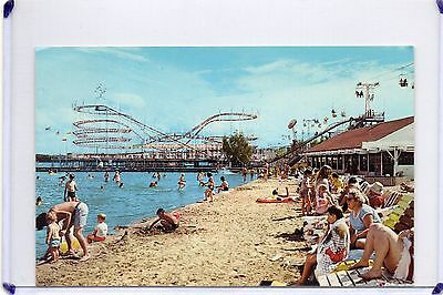 Beach,roller Coaster & Rides-Lake Shafer,indiana Beach Monticello,in