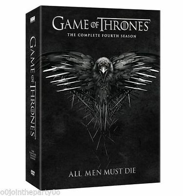 NEW Game of Thrones: Complete Season 4 Ships 1rst class free