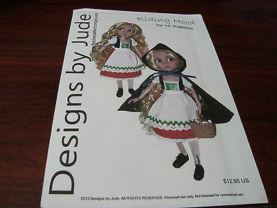 """~Uncut Pattern~ ~for Tonner  14"""" PATIENCE  DOLL 1"""