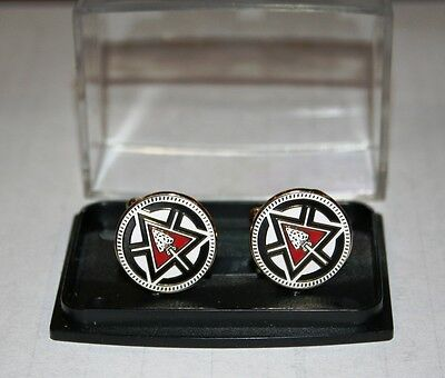 NEW SOUTHERN REGION ORDER OF THE ARROW CUFFLINKS FOR OA 100TH ANNIVERSARY
