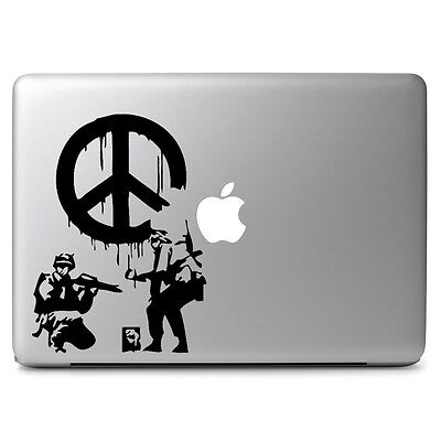 "Peace Sign Decal Sticker Skin for Apple Macbook Air & Pro 11"" 12"" 13"" 15"" 17''"