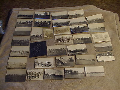 1912 Camp McCoy - Sparta, Wisconsin military training photo postcards, S.D.N.G.