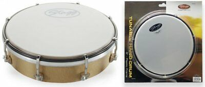 "Stagg HAD-008W Tuneable 8"" Plastic Hand Drum"