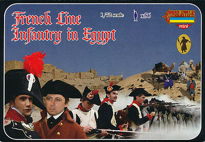 Strelets-R 1/72 M068 French Line Infantry in Egypt (Napoleonic Wars) (56 Figs)