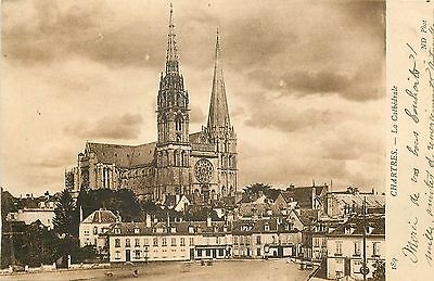 28 Chartres Cathedrale - Nd