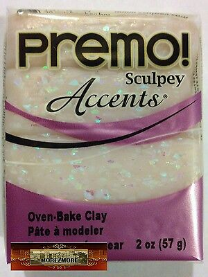M00355 MOREZMORE Premo Accents Sculpey OPAL 5109 2 oz Polymer Clay T20A