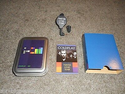 Coldplay - Laminate Pass & Earbuds Set