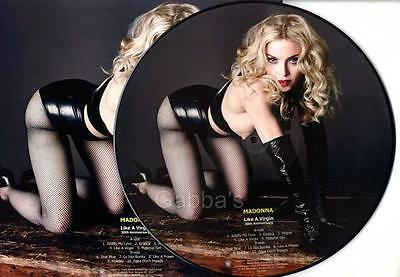 MADONNA - LIKE A VIRGIN (30th Anniversary) LP PICTURE DISC + PICTURE SLEEVE NEW