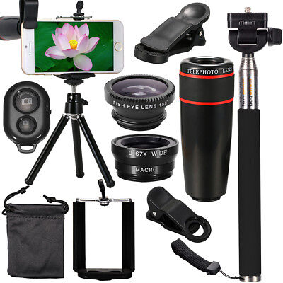 Phone Camera Lens Filter Top Accessories Travel Kit for Samsung S7 S6 Edge DC600