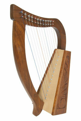 New Baby Harp Birch & Sheesham Pro Quality Irish Celtic Design Roosebeck