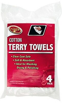 Cleanrite 3-527 4 Pack Terry Cleaning Towels