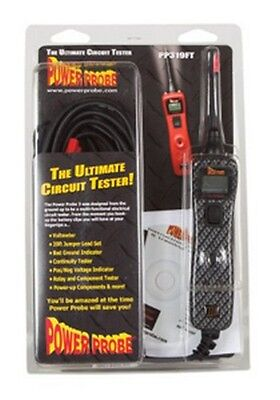 Power Probe PP3CSCARB Carbon Voltmeter/Electrical Circuit Tester & Diagnostic