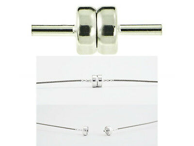Strong 925 Sterling Silver Magnetic Clasp Necklace Bracelet, Best quality