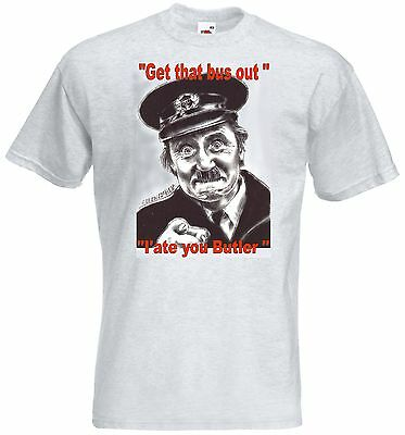 ON THE BUSES Blakey ASH GREY T SHIRT all sizes SMALL - XXXL