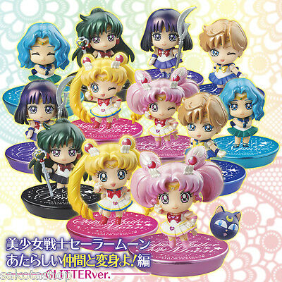 "Sailor Moon Anime - Petit Chara ""More Soldiers"" Glitter version"